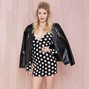Polka Dot Sequin Mod 1950's and Disco sequel Dress