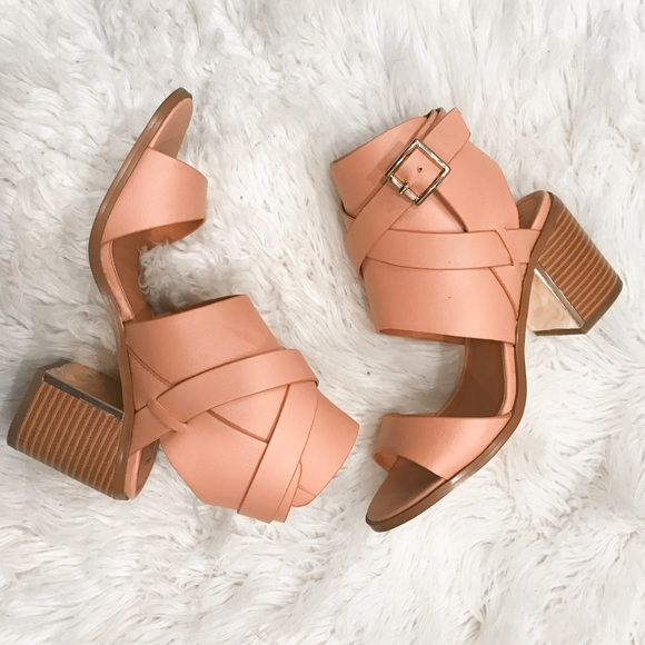 ShoeDazzle Shoes - Block Heel Sandal