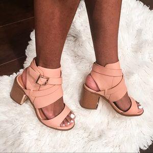 ShoeDazzle Shoes - Block Heel Sandal