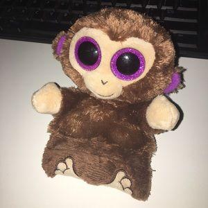 Ty Peek A Boo Smartphone Holder Monkey NWT