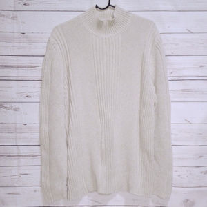 Express Beige Tan Heavy Sweater