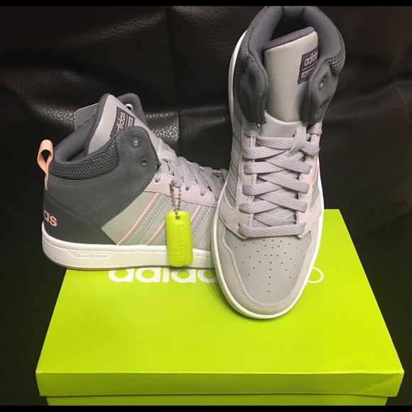 buy popular 108ac b9343 Adidas Superhoops Mid Sneaker, Size 6.57, Womens