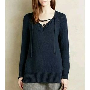 Anthropologie MOTH Ashbury chunky knit sweater