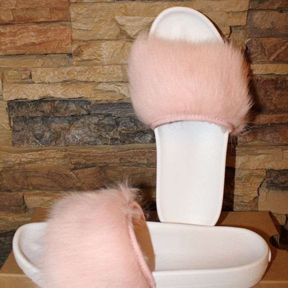 224f0fe9ef7 UGG Shoes | Royale Toscana Fluffie Slide Slippers Sandals | Poshmark