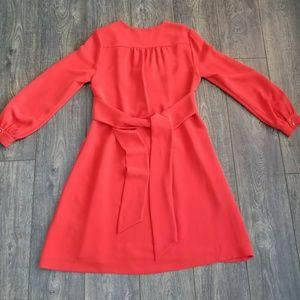 kate spade Dresses - Kate Spade New York Red Tie Dress - size 10