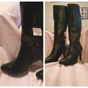 Mossimo 3.25 Stiletto Heeled Knee High Boots