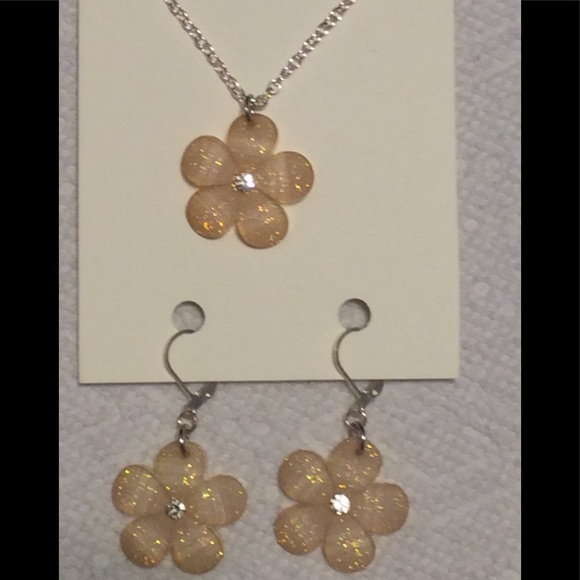 52 off just for fun jewelry cream colored flower for Jewelry just for fun