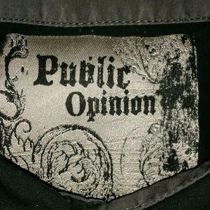 Public Opinion Shirts - Public Opinion Men's Short Sleeve Shirt