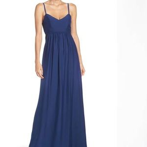 Blue Felicity & Coco Colby Woven Maxi Dress