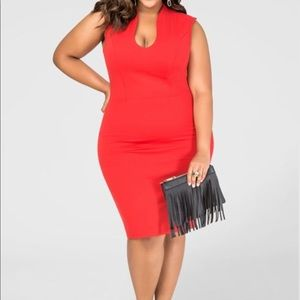 Ashley Stewart Red Dress