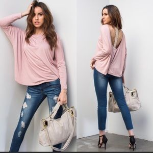 Tops - COMING SOON!! Dusty Pink Top