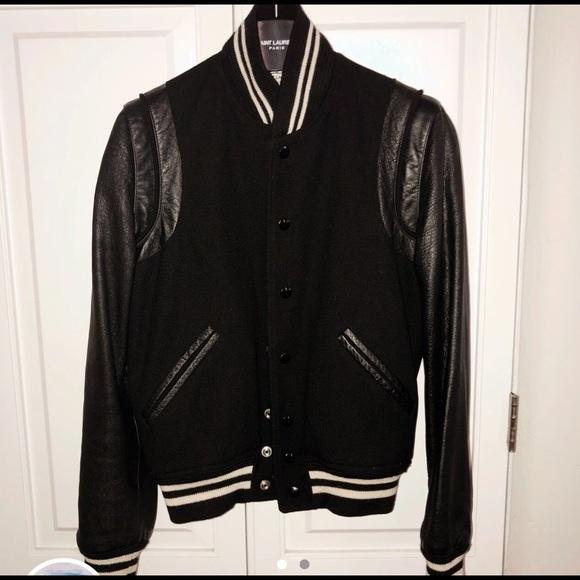 4dc4ede8513 Saint Laurent Jackets   Coats