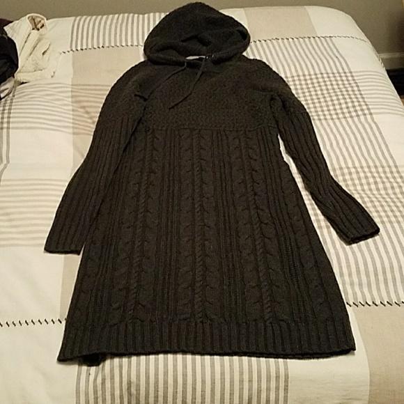 79e7bb56606 Athleta Dresses   Skirts - Athleta merino wool hooded sweater dress