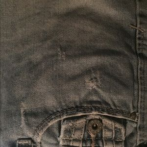 Jean mini skirt. Aeropostale, gently worn.