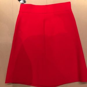Kate Spade Red A Line Skirt Size 0