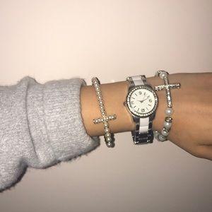 beautiful cross watch set