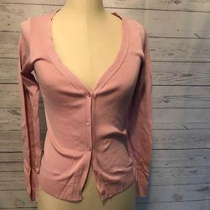 Women's Agnes b Paris pink cardigan