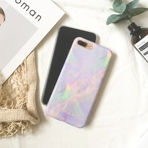 Unicorn marble iPhone 6 cover