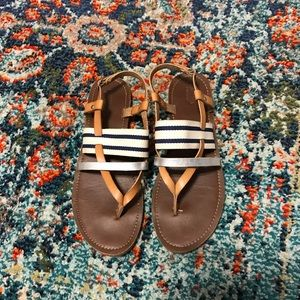 Worn twice. Sandals size 9