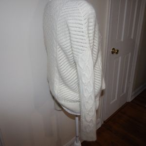 French Connection Feather Knitted Sweater