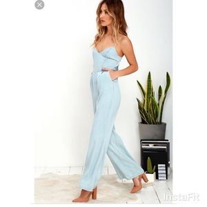 B.B. Dakota light blue one piece