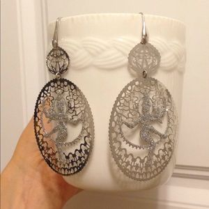 NWT Talco dancing sterling silver buddha earrings