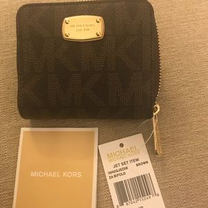 "MICHAEL Michael Kors ""Jet Set"" wallet"
