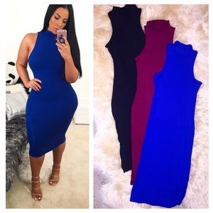 9b0f9aa30c0 Dresses   Skirts - Turtleneck midi dress new multiple colors and size