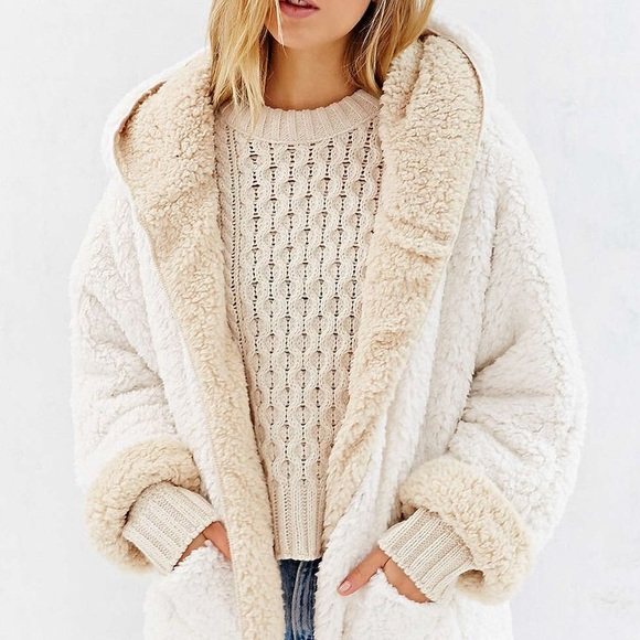 Teddy fleece urban outfitters