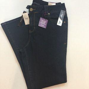 Lane Bryant genius straight fit slim boot jeans