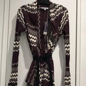 Jennifer Lopez Belt Sweater