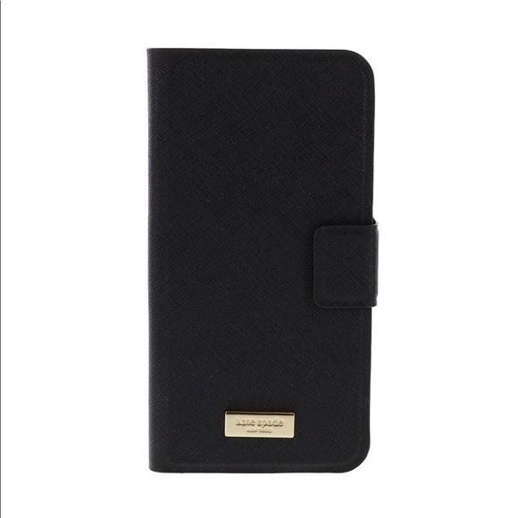 best service 4c40b c1b60 📱Kate Spade Leather Wrap Folio iPhone 6 Plus📱