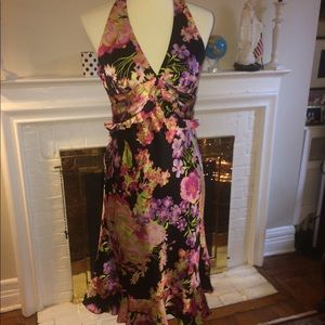 Kay Unger New York floral cocktail dress Size 6