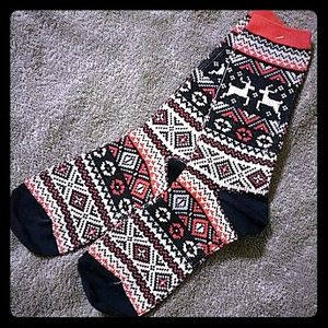 Accessories - Warming fair isle crew socks