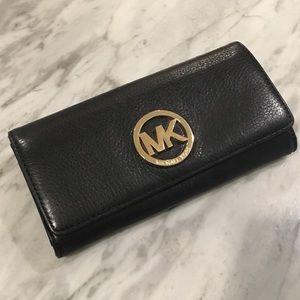 [USED] Michael Kors: Fulton Leather Wallet