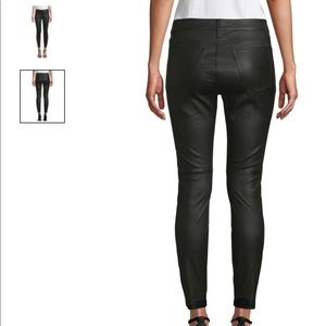 NWT black leather joes jeans