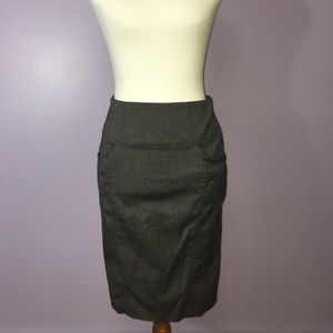 Candie's Grey Pencil Skirt