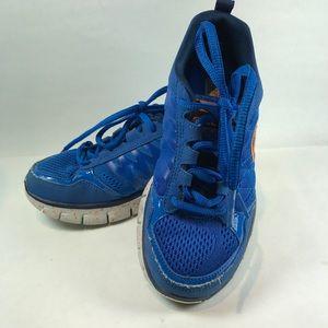 Sketchers Blue Orange sneakers size 13 Little Boy