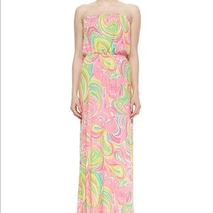 Lilly Pulitzer Maxi Dress, One Night Stand