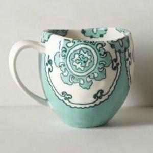 2 Anthropologie Gloriosa Mugs