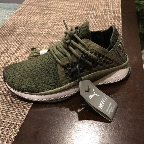 Puma Tsugi Netfit Sneaker Olive Green