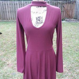 Longsleeve babydoll dress