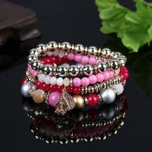 Jewelry - Multilayer Boho Stackable Beaded Stretch Bracelet