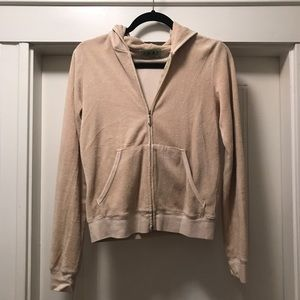 Juicy couture terry cloth hoodie