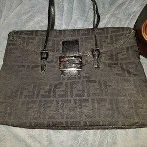 Vintage Fendi Canvas bag.