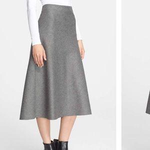 Theory Jahneem Flannel A line Skirt