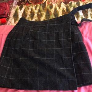 J.Crew Factory wrap skirt
