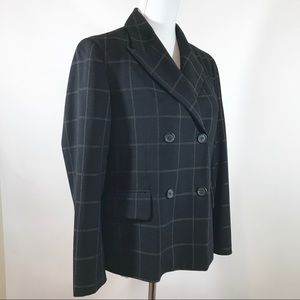 Michael Kors Italian Blazer Black 10
