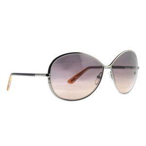 TOM FORD Iris Oversized TF 180 14B Sunglasses