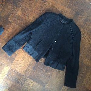 Like New BCBGmaxazria Tweed Textured Blazer